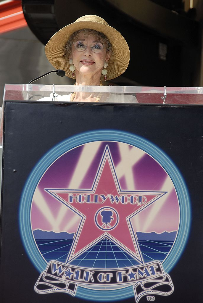 Image Credits: Getty Images /  Charley Gallay | The actress got her star on the Walk of Fame in 1995