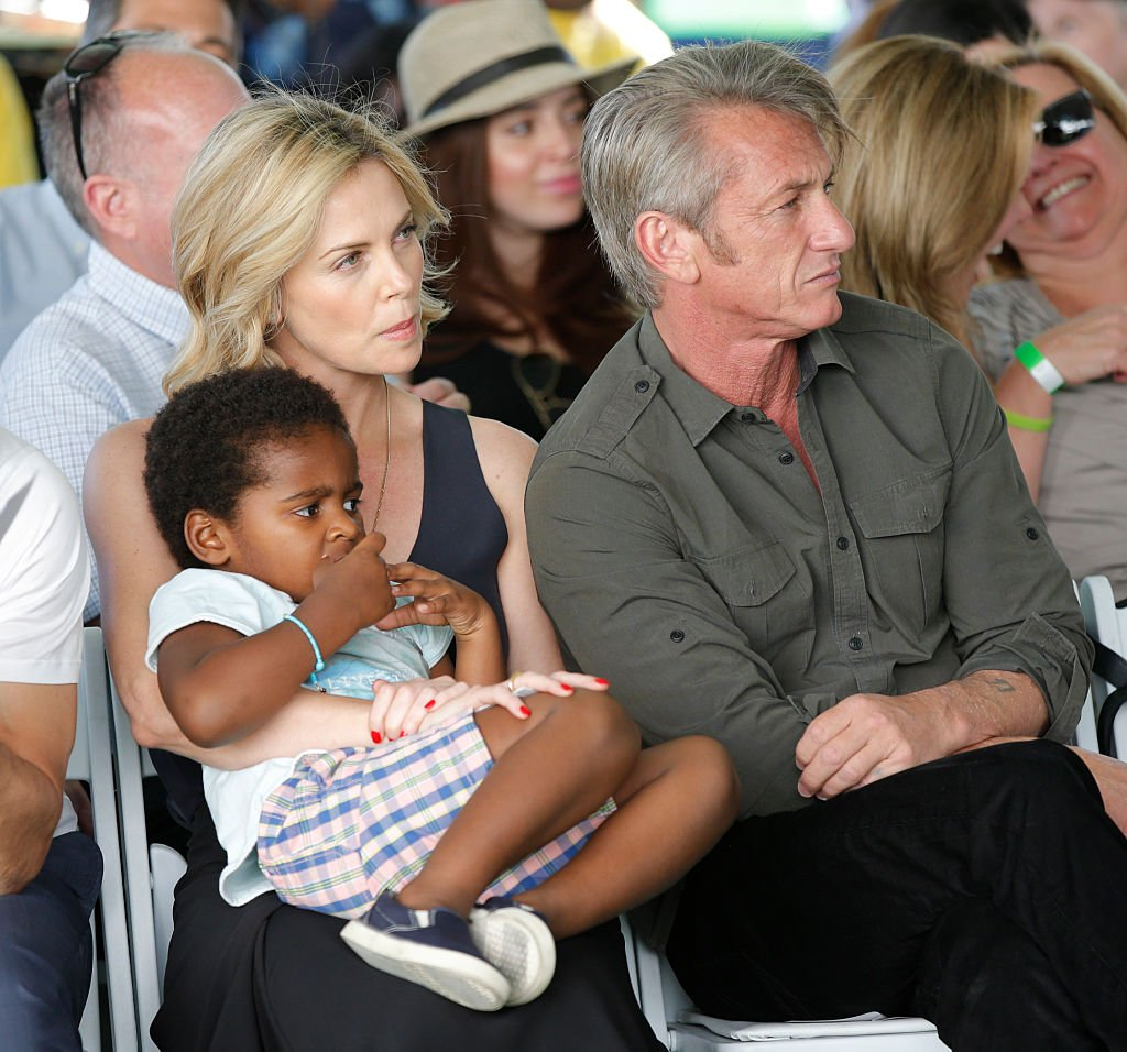 Image Credits: Getty Images   Charlize is a mother of two adopted children Jackson and August