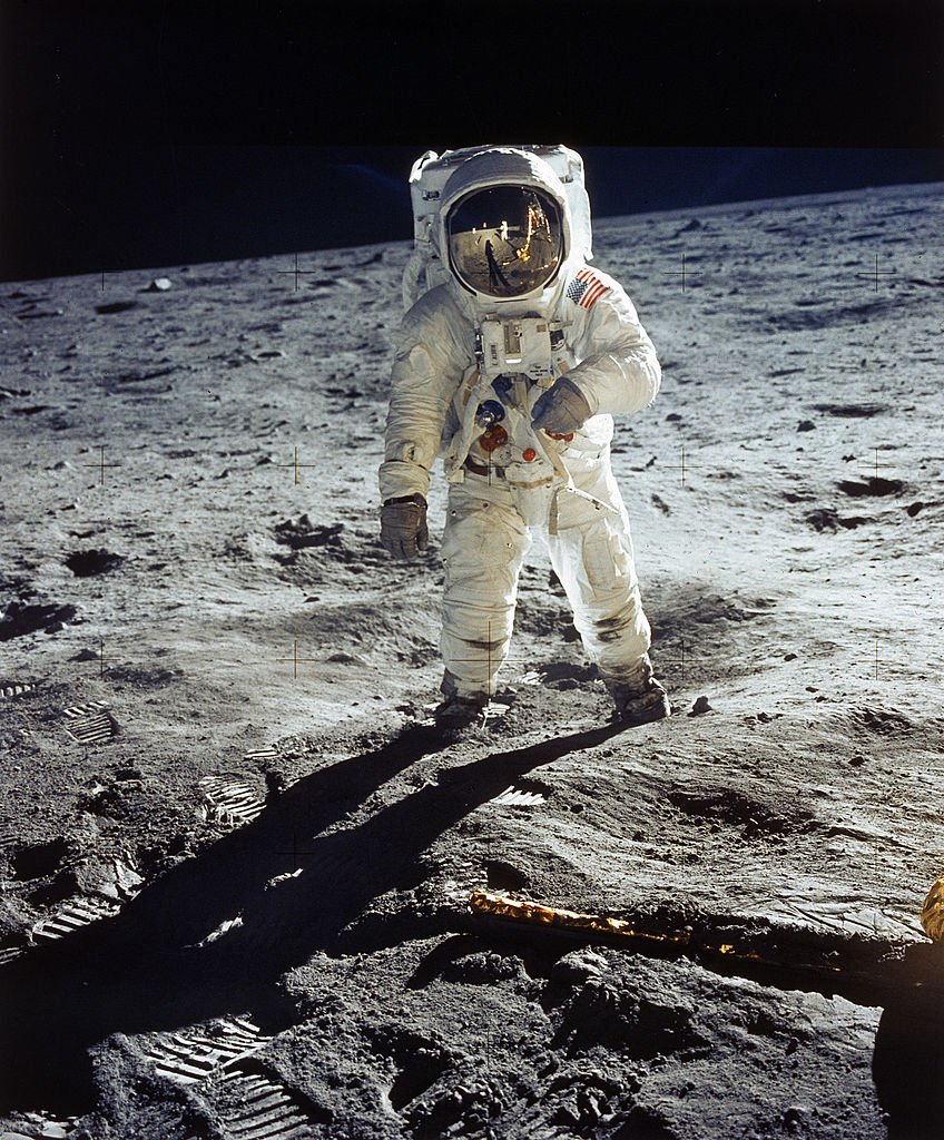 Image Credit: Getty Images/NASA/Buzz Aldrin