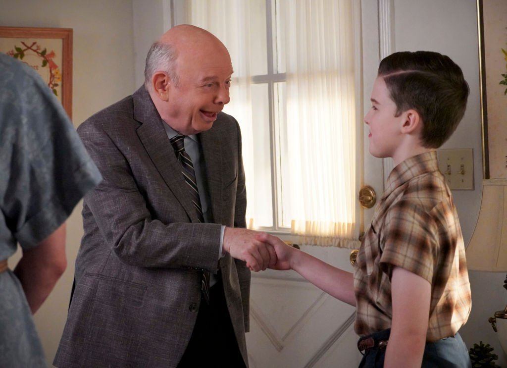 Image Credit: Getty Images / Actor Wallace Shawn stars as Dr. Sturgis on the series, Young Sheldon.