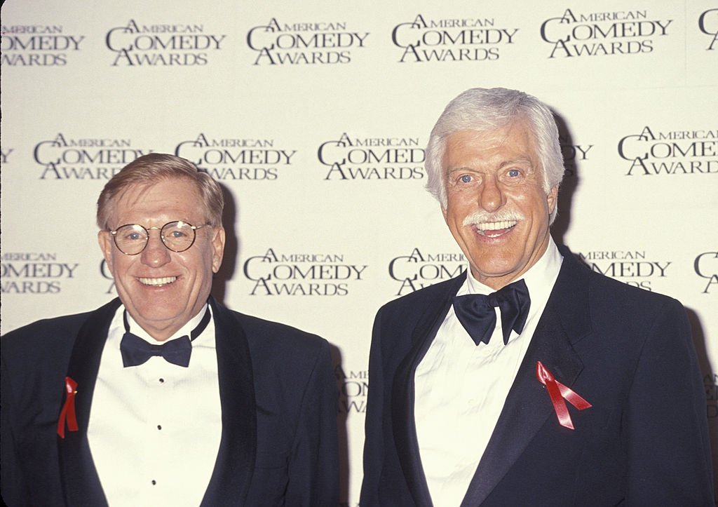 Image Credit: Getty Images / Jerry Van Dyke and Dick Van Dyke during 7th Annual American Comedy Awards at Shrine Exposition Center in Los Angeles, California, United States.