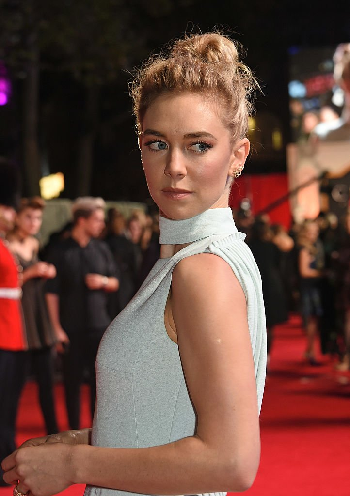 "Image Credits: Getty Images / David M. Benett / Dave Benett / WireImage | Vanessa Kirby attends the World Premiere of new Netflix Original series ""The Crown"" at Odeon Leicester Square on November 1, 2016 in London, England."