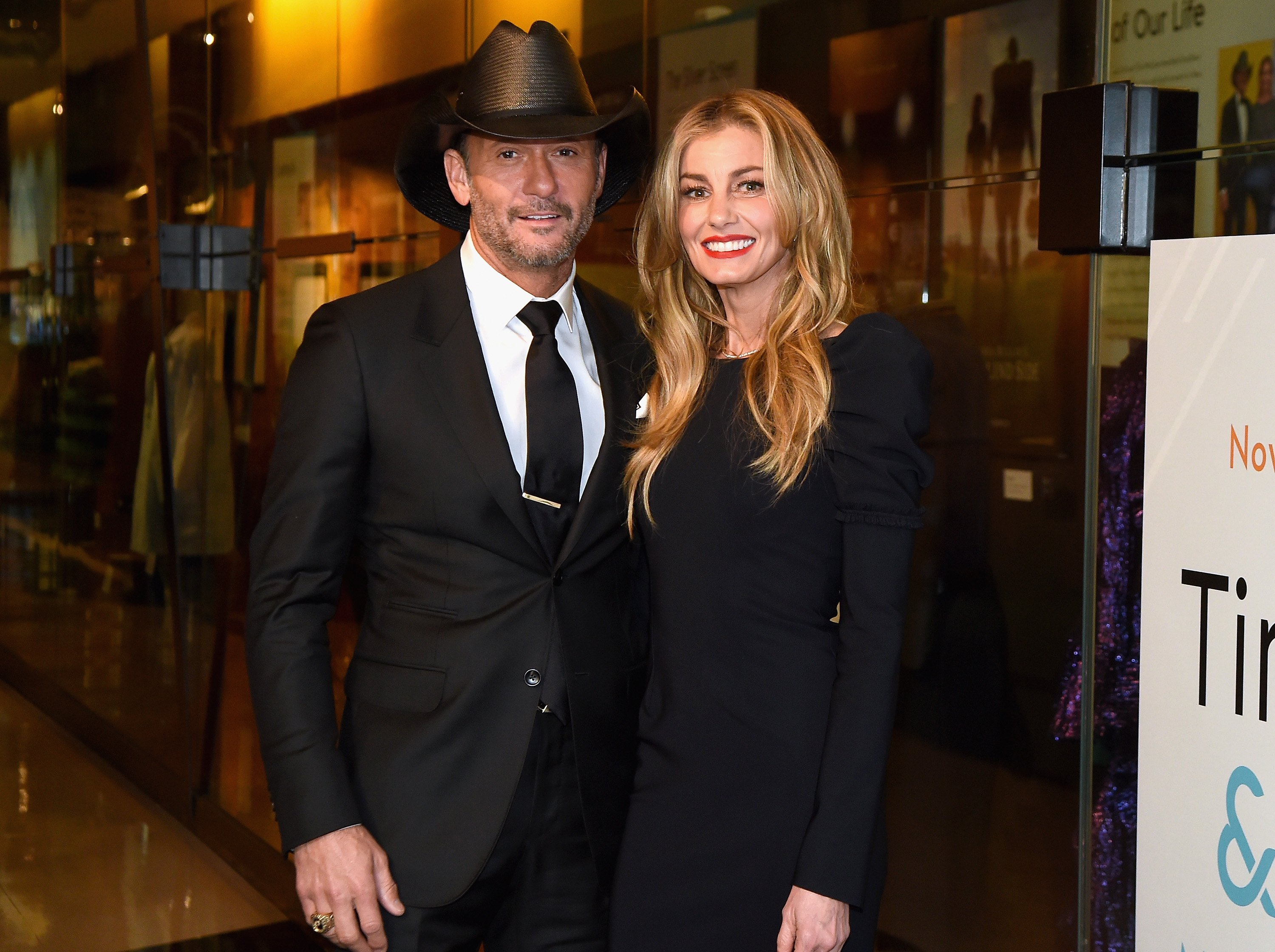 Image Credits: Getty Images / Rick Diamond | Tim McGraw and Faith Hill attend the Country Music Hall of Fame and Museum's debut of the Tim McGraw and Faith Hill Exhibition on November 15, 2017 in Nashville, Tennessee.