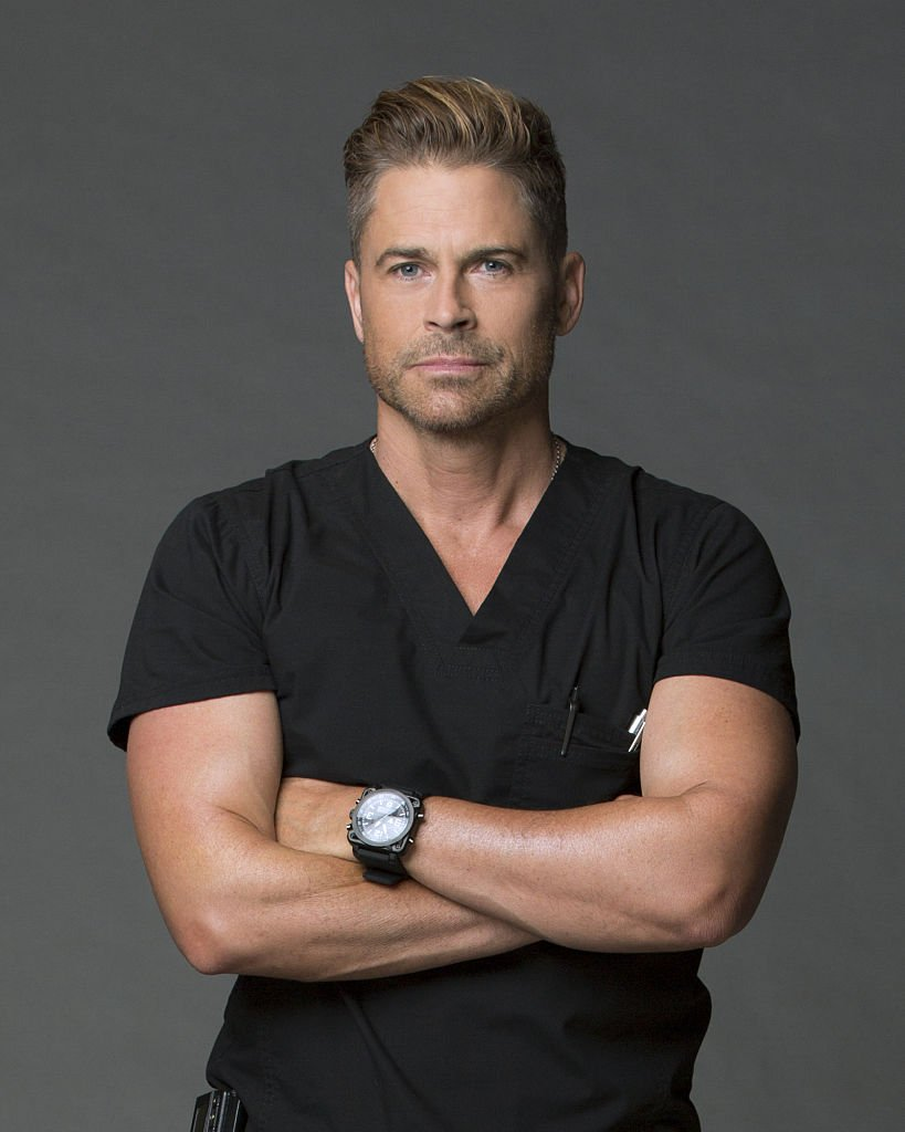 Image Credit: Getty Images/CBS via Getty Images/Monty Brinton | Portrait of Rob Lowe from Code Black