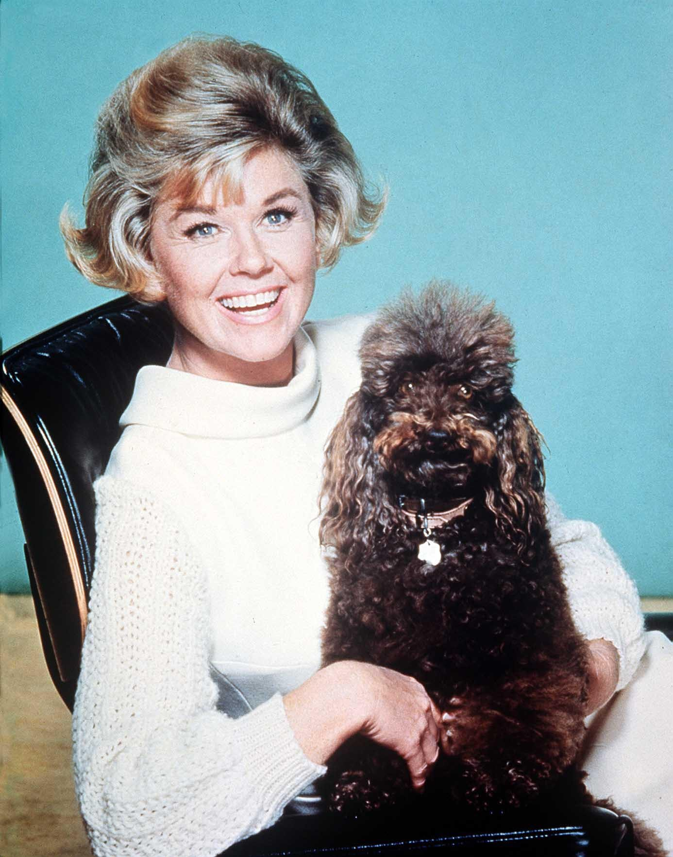 Image Credits: Getty Images / Hulton Archive | American Singer and Actress Doris Day, 01.05.1968.
