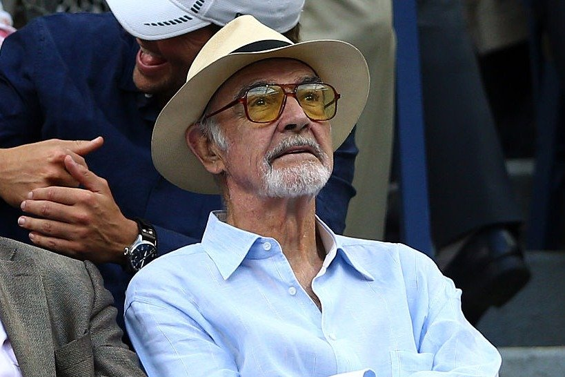 Image Credit: Getty Images/Clive Brunskill   Retired actor, Sean Connery, attends the 2015 U.S. Open