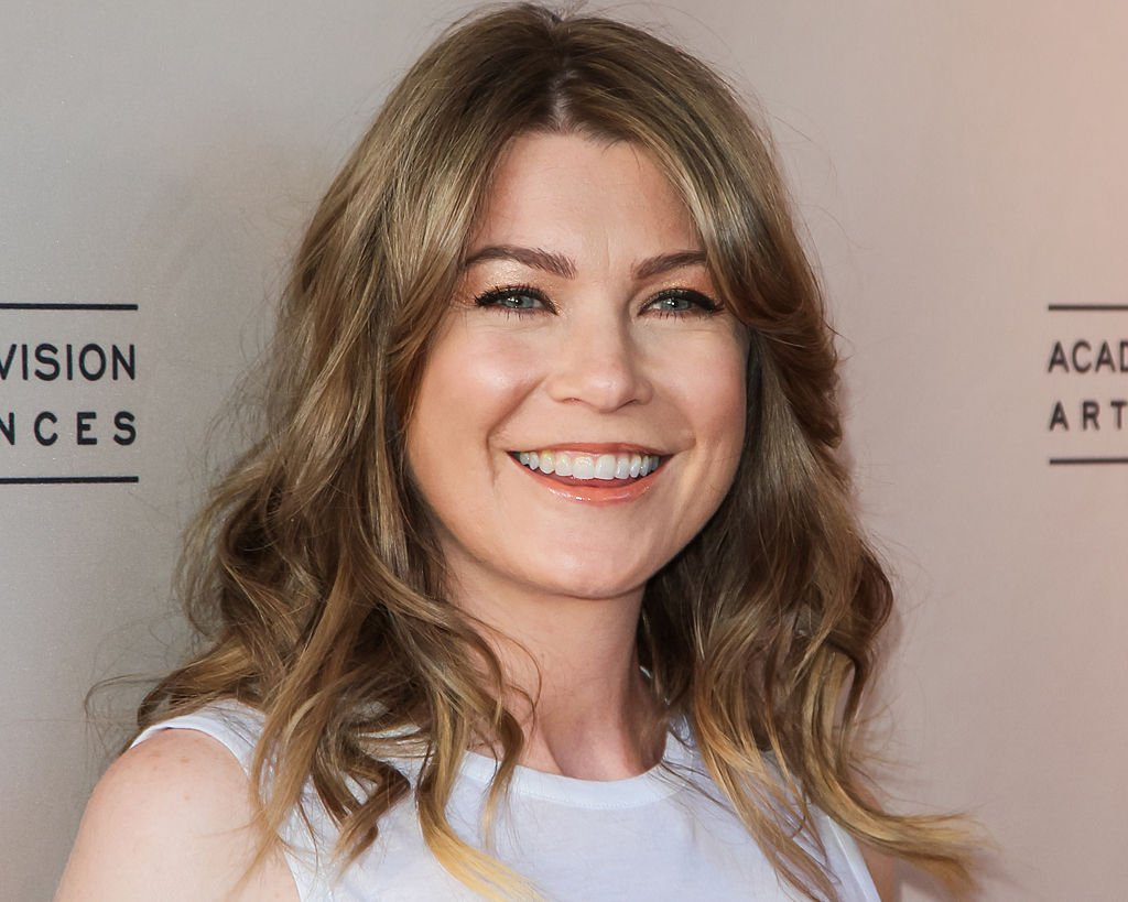 Image Credit: Getty Images/FilmMagic/Paul Archuleta |Ellen Pompeo attends the Academy Of Television Arts & Sciences