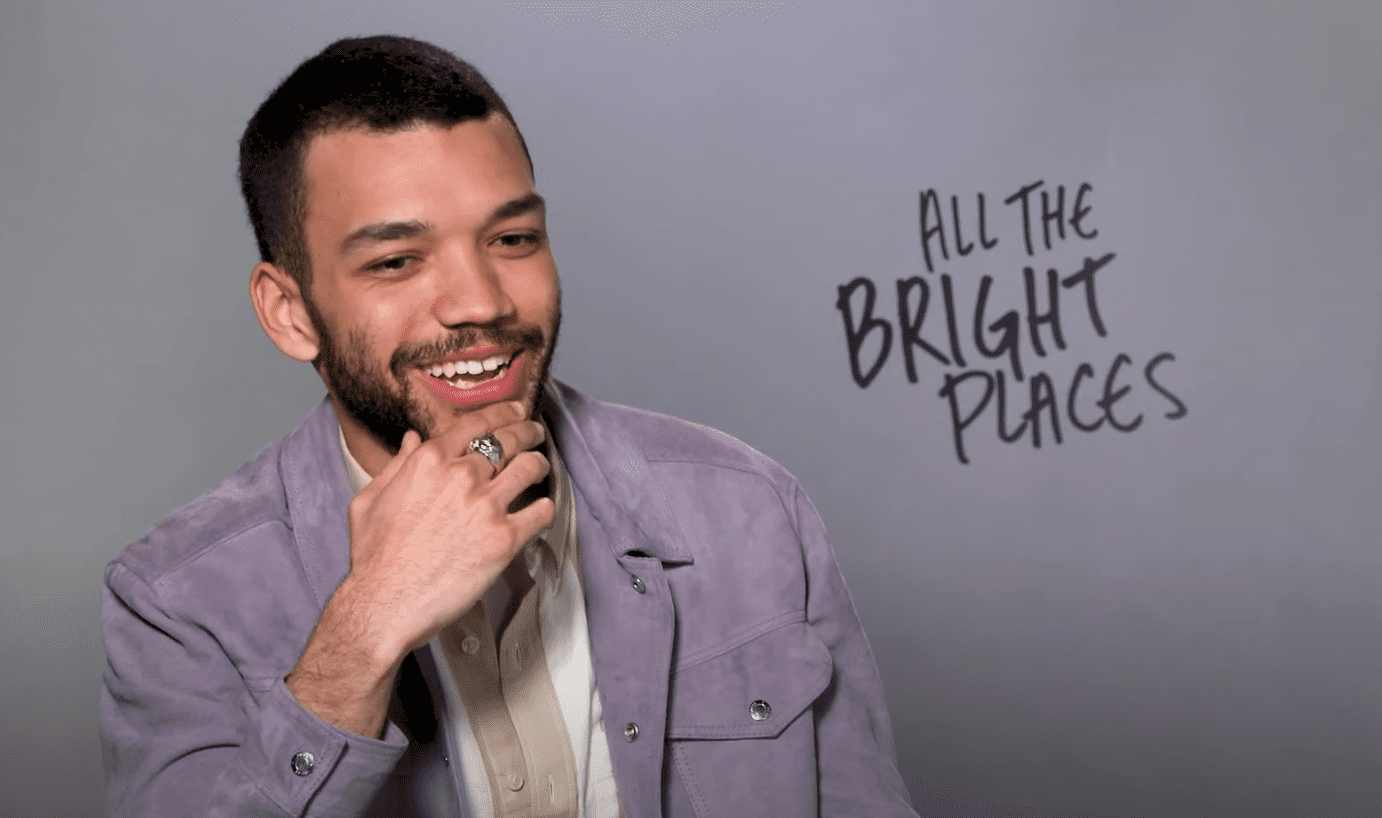 Image Source:Youtube/SweetyHigh |Justice in an interview with SweetyHigh for his movie, All The Bright Places