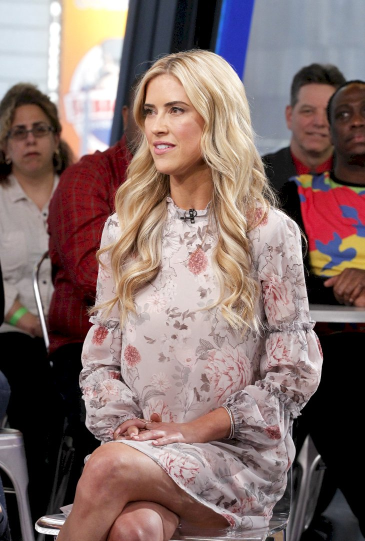 "Image Credit: Getty Images/Walt Disney Television/Lou Rocco | Christina El Moussa is a guest on ""Good Morning America,"""