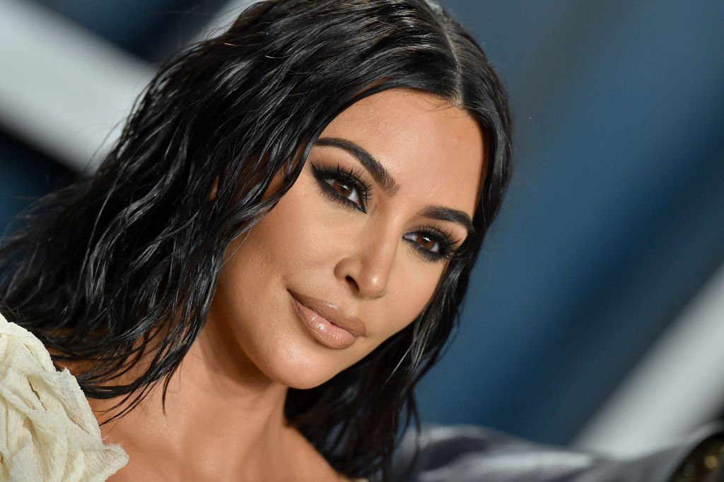 Image Credit: Getty Images / Kim Kardashian West attends the 2020 Vanity Fair Oscar Party on February 09, 2020.