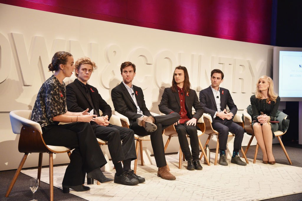 Image Credit: Getty Images / Naomi Wilding, Finn McMurray, Quinn Tivey, Rhys Tivey, Tarquin Wilding and Judith Light speak onstage during the 4th Annual Town & Country Philanthropy Summit at Hearst Tower on May 9, 2017 in New York City.