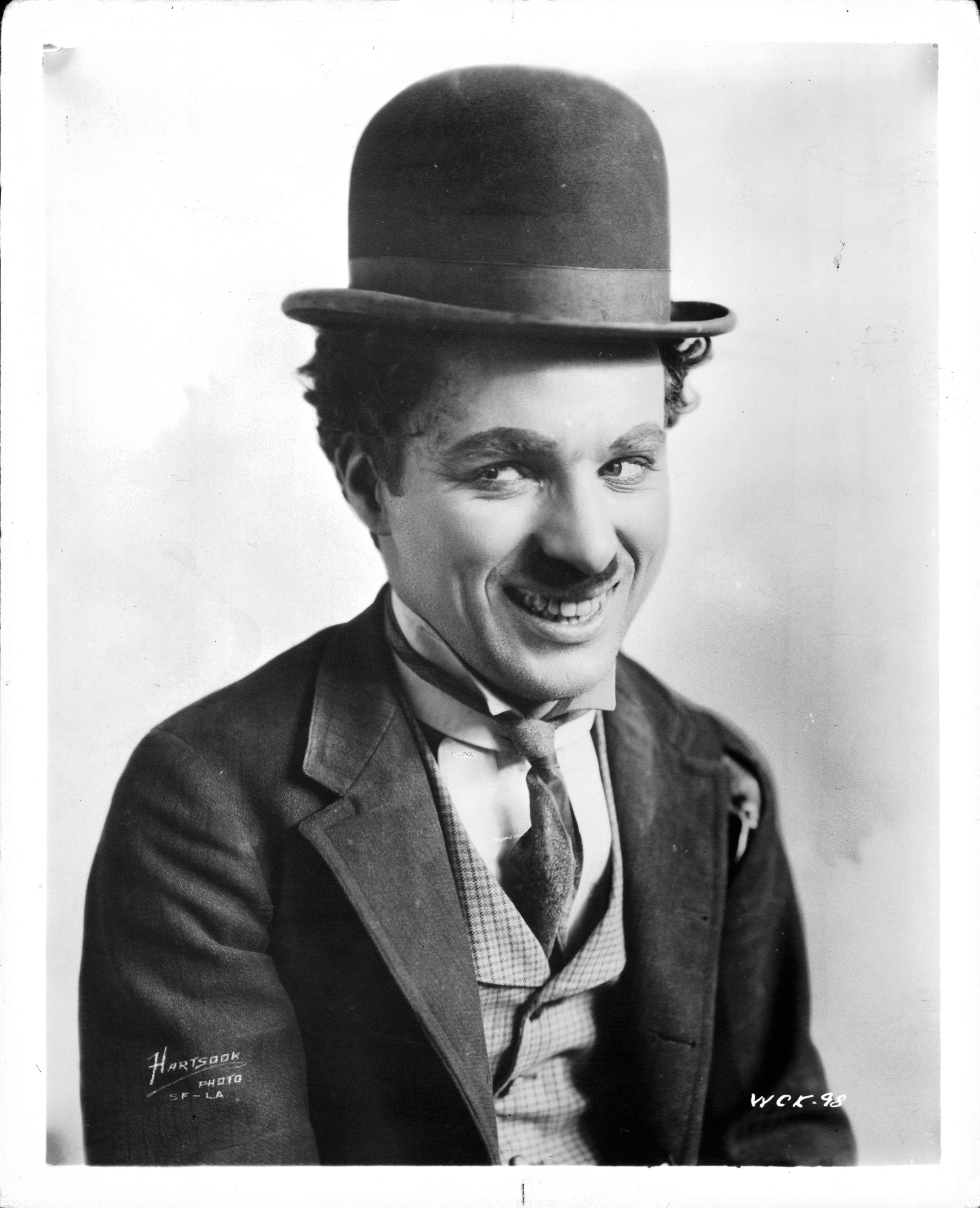 Image Source: Getty Images/Portrait of Charlie Chaplin