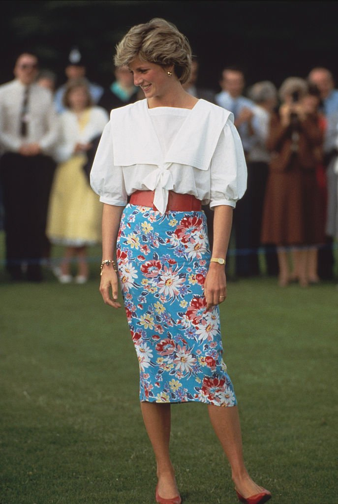 Image credits: Getty Images/Tim Graham Photo Library | Diana, Princess of Wales attends a polo match in Cirencester, UK, 30th June 1985