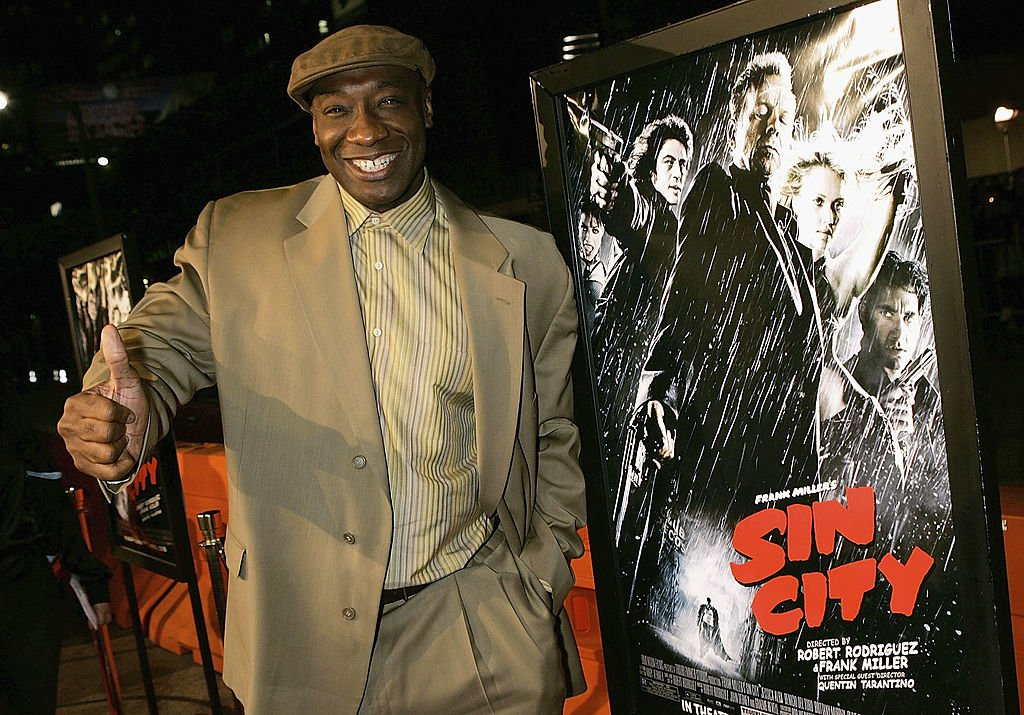 "Image Credit: Getty Images /  Actor Michael Clarke Duncan arrives at the premiere of ""Sin City"" at Mann National Theater on March 28, 2005 in Los Angeles, California."