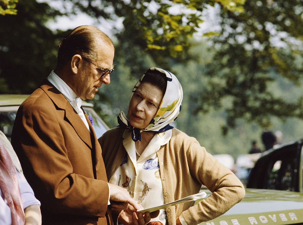 Image Credit: Getty Images / The Queen And Prince Philip Chatting Together During The Royal Windsor Horse Show In The Grounds Of Windsor Castle.