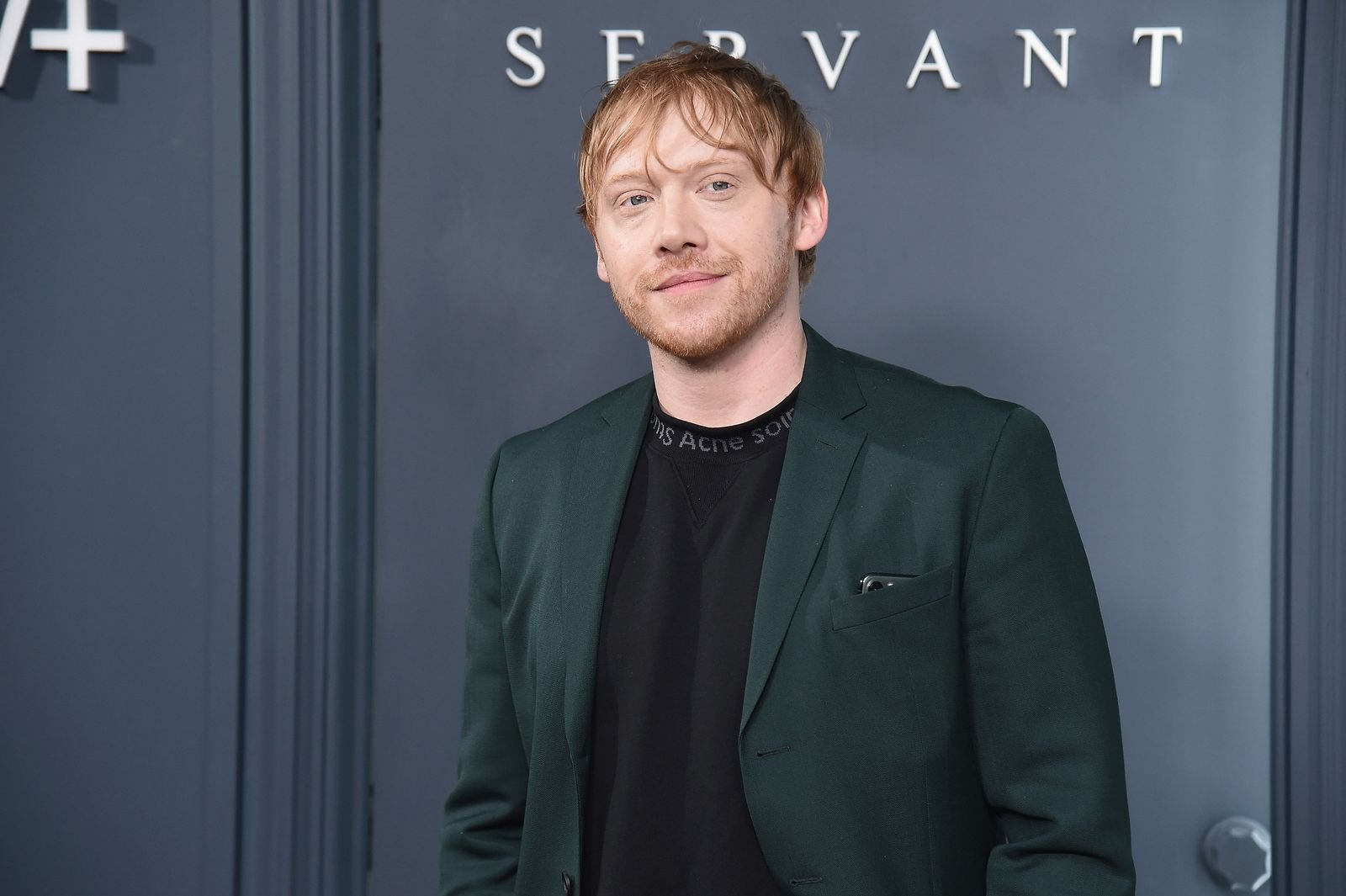 "NEW YORK, Rupert Grint attends Apple TV+'s ""Servant"" World Premiere at BAM Howard Gilman Opera House, 2019 in New York City/Photo:Getty Images"