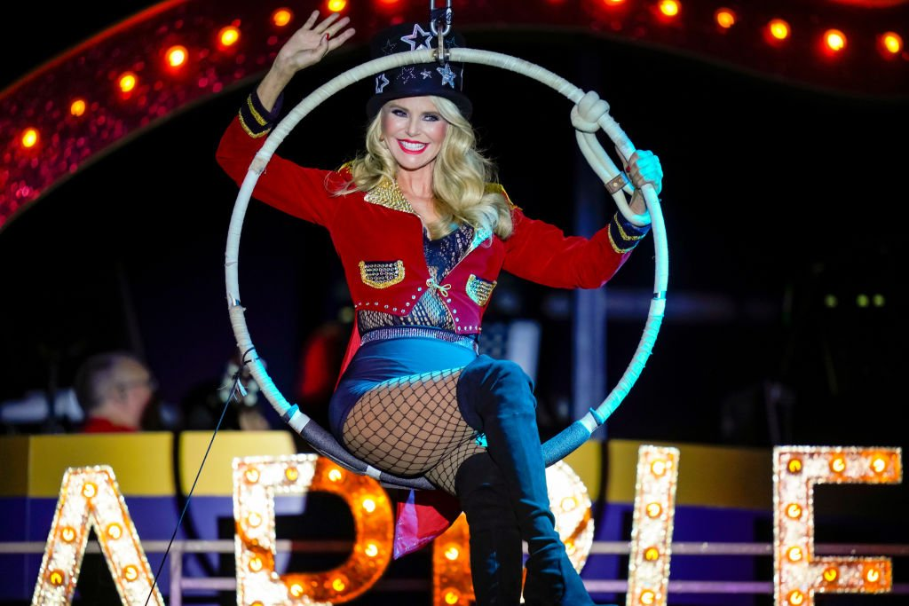 Image Credits: Getty Images / Michael Stewart | Christie Brinkley celebrates her birthday with the Big Apple Circus on February 01, 2020 in New York City.