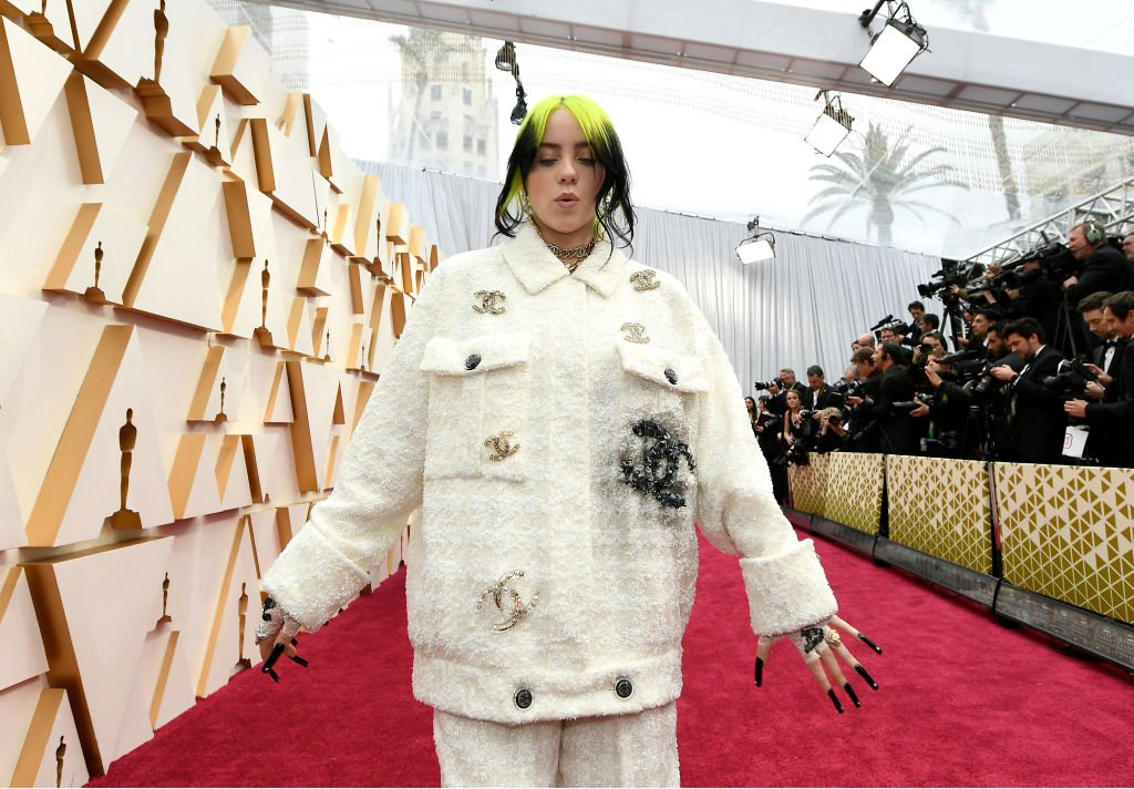 Image Credit: Getty Images / Billie Eilish attends the 92nd Annual Academy Awards at Hollywood and Highland on February 09, 2020.