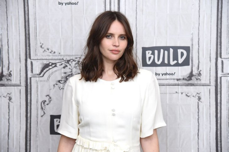 Image Credit: Getty Images / Felicity Jones at an event.