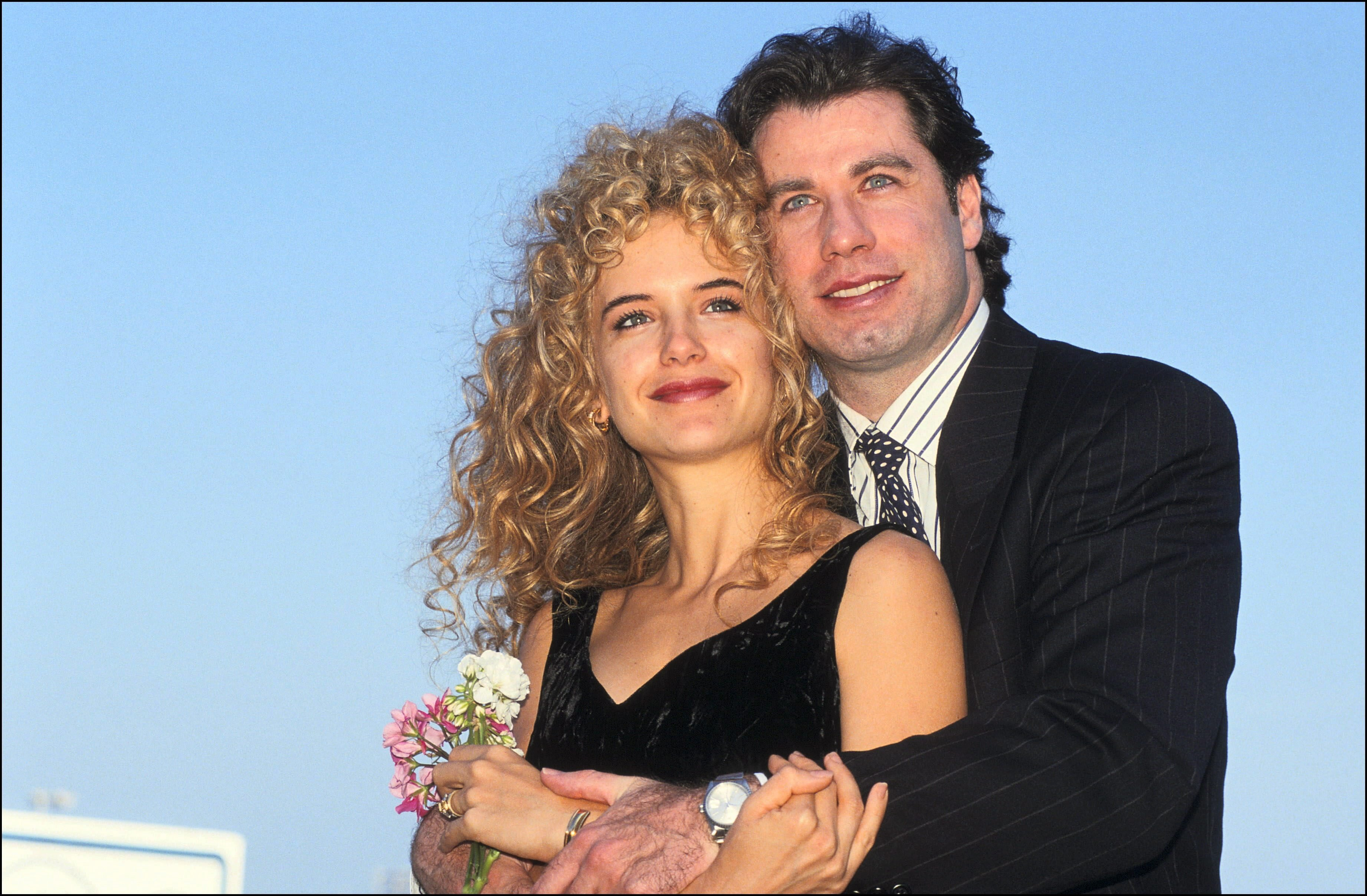 Image Source: Getty Images/John and Kelly as newlyweds