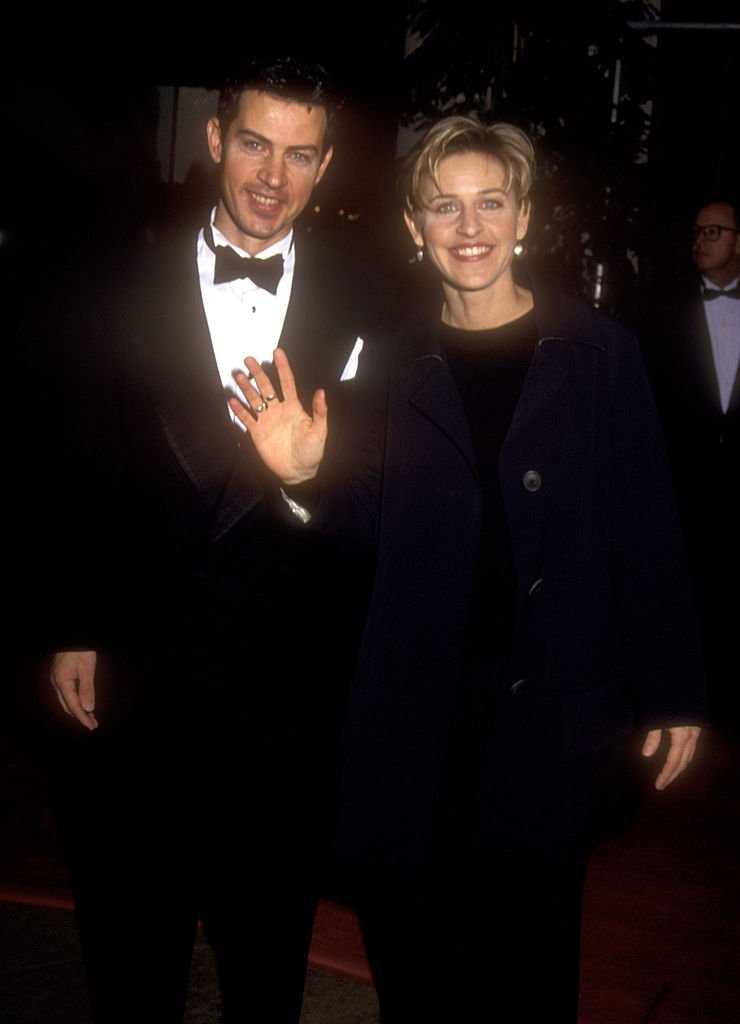 Image Source: Getty Images/Barry King| Vance DeGeneres and Ellen DeGeneres during The 52nd Annual Golden Globe Awards at Beverly Hilton Hotel in Beverly Hills, California, United States