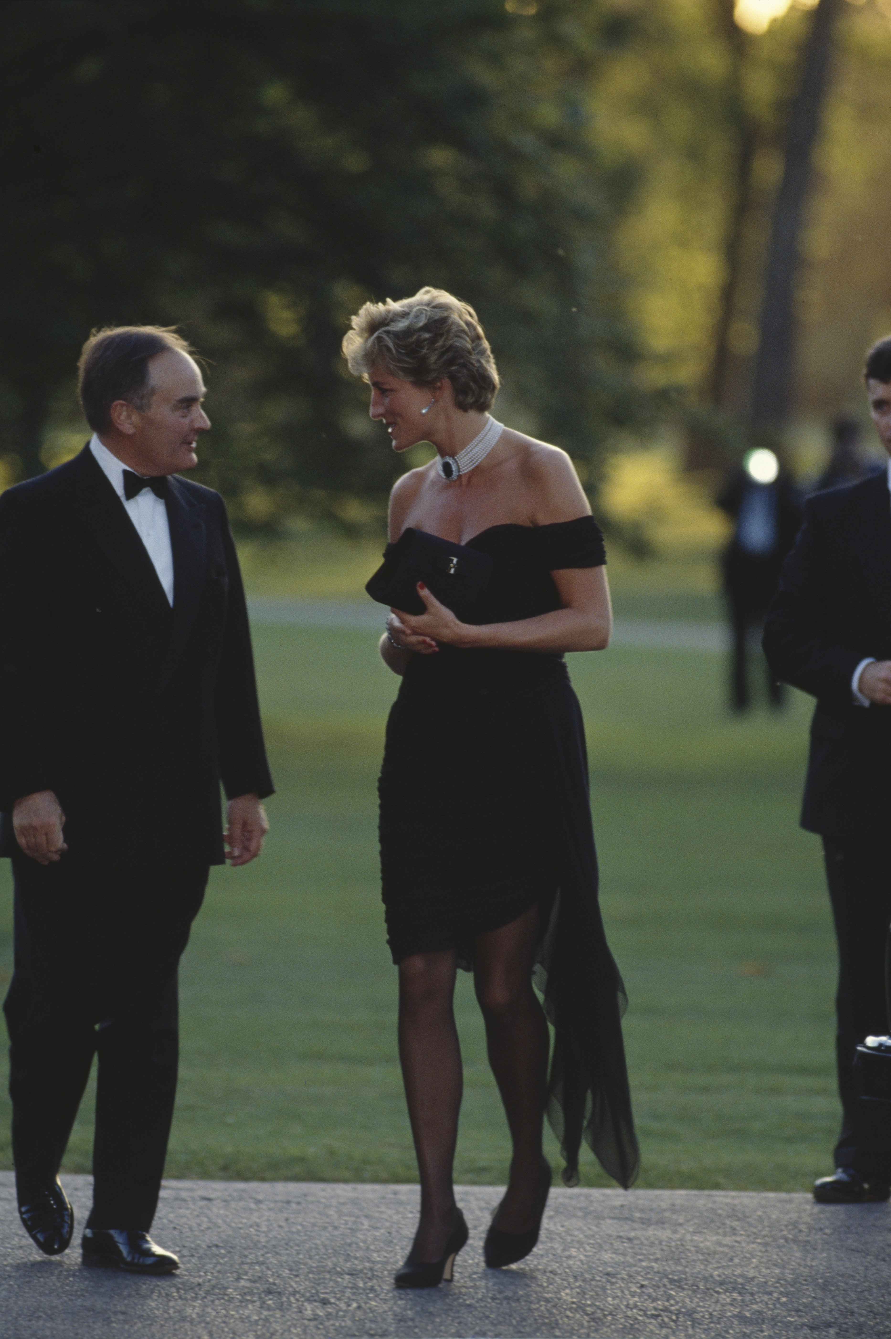 Image Credits: Getty Images | Princess Diana Pictured In Her Infamous Revenge Dress