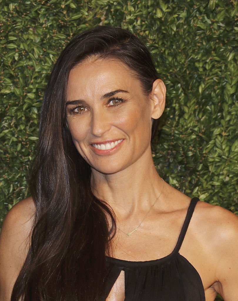 Image Credits: Getty Images / Jim Spellman / WireImage | Actress Demi Moore attends the 12th annual CFDA/Vogue Fashion Fund Awards at Spring Studios on November 2, 2015 in New York City.
