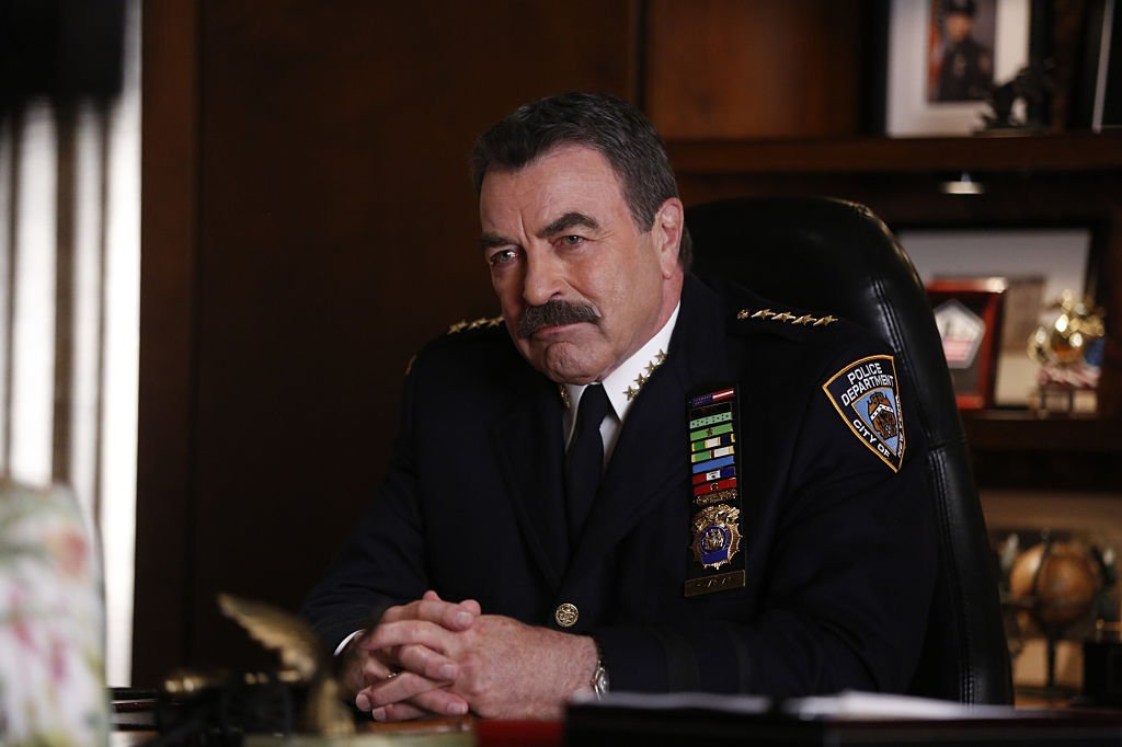 Image Credit: Getty Images/CBS via Getty Images/Craig Blankenhorn | Still of Selleck from Blue Bloods