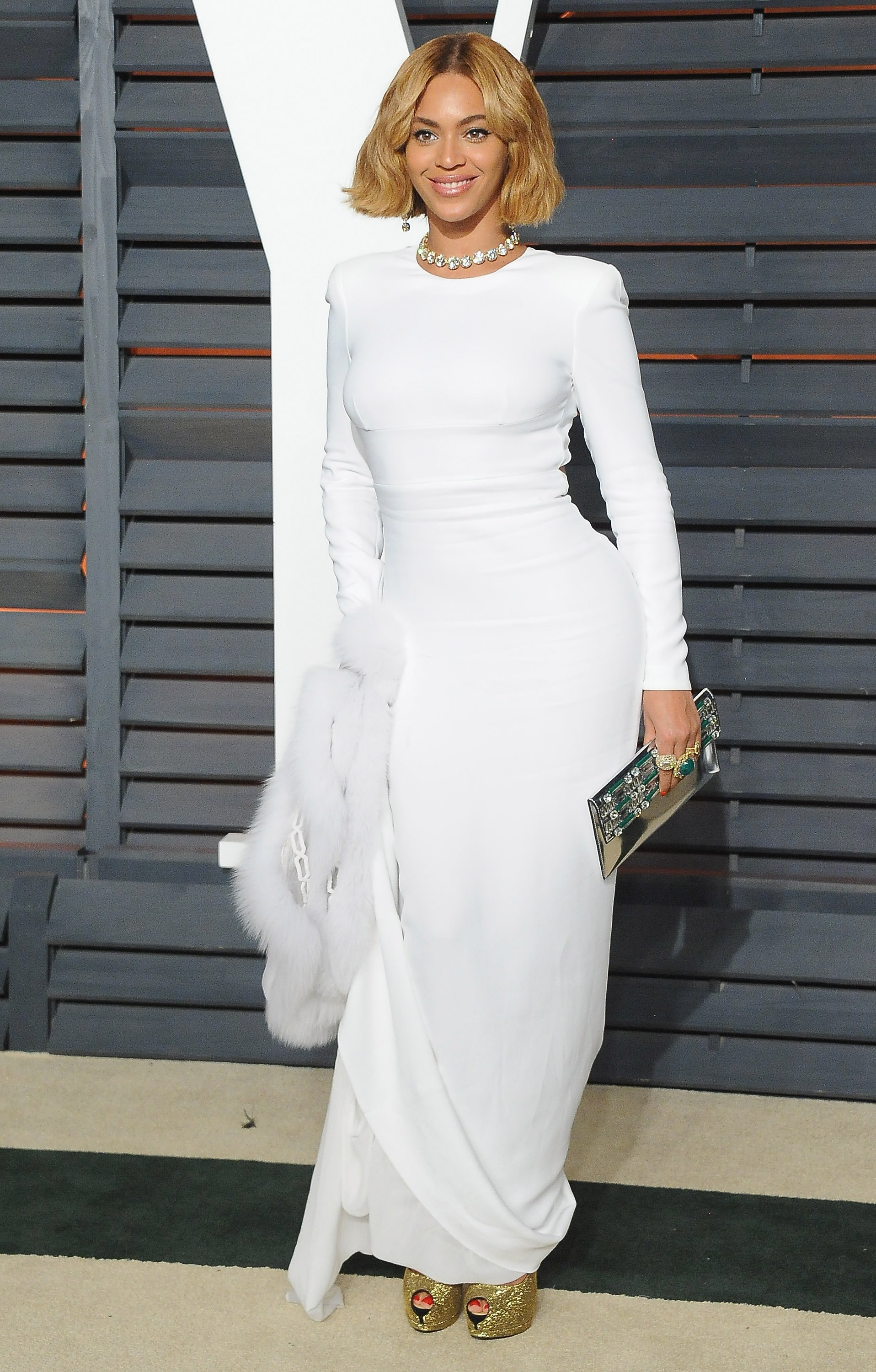 Image Credit: Getty Images/FilmMagic/Jon Kopaloff | Beyonce at the Vanity Fair Oscar Party