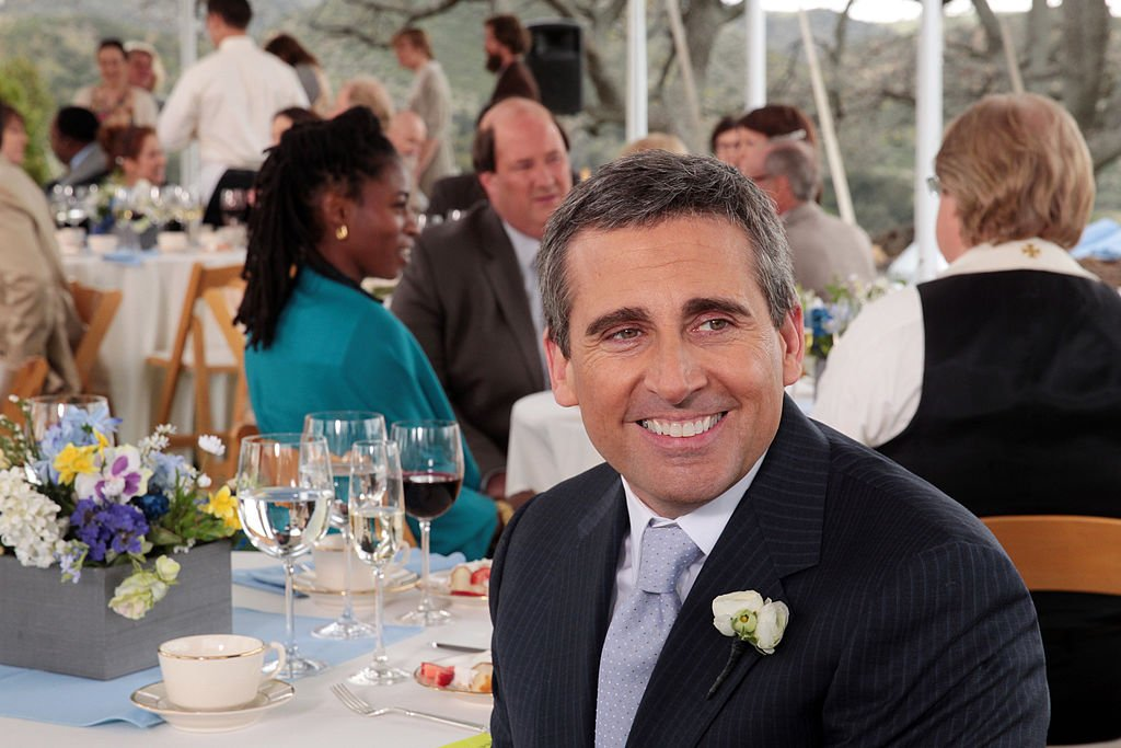 Image Credit: Getty Images / Actor Steve Carell on set for the series, The Office.