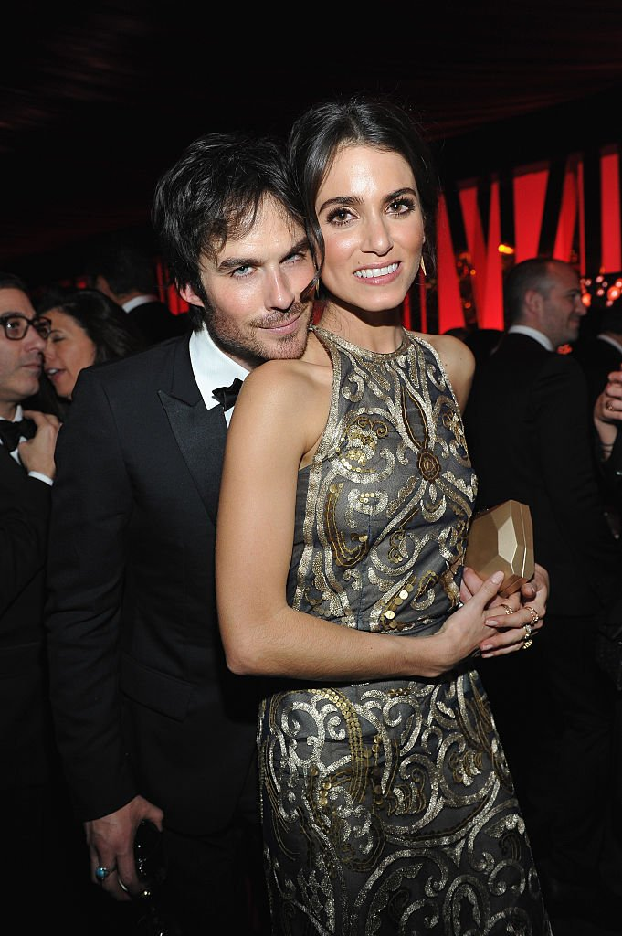 Image Credits: Getty Images / Donato Sardella | Actors Ian Somerhalder and Nikki Reed attend The 2016 InStyle and Warner Bros. 73rd annual Golden Globe Awards Post-Party at The Beverly Hilton Hotel on January 10, 2016 in Beverly Hills, California.