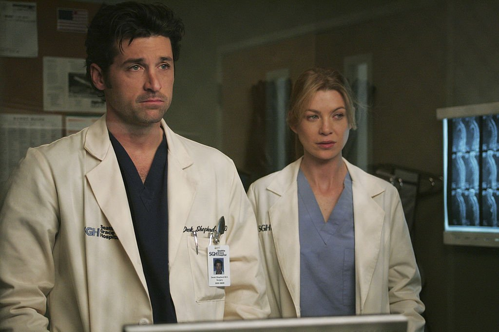 Image Credit: Getty Images/Walt Disney Television via Getty Images/Vivian Zink | Dempsey and Pompeo as Sheperd and Grey