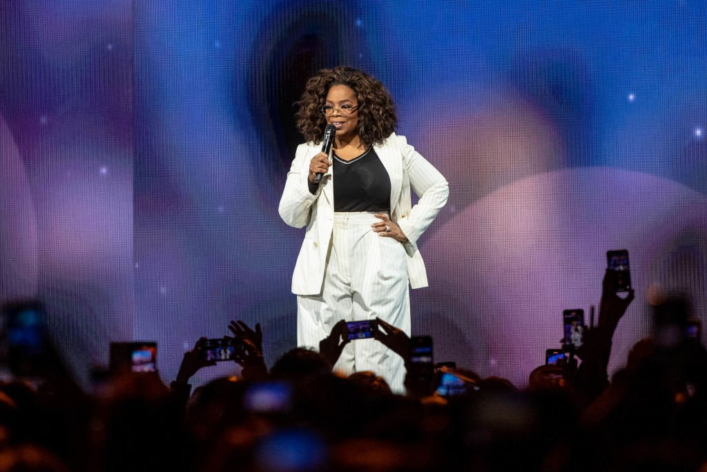 Image Credit: Getty Images / Oprah speaks onstage during 'Oprah's 2020 Vision: Your Life in Focus Tour' presented by WW (Weight Watchers Reimagined).