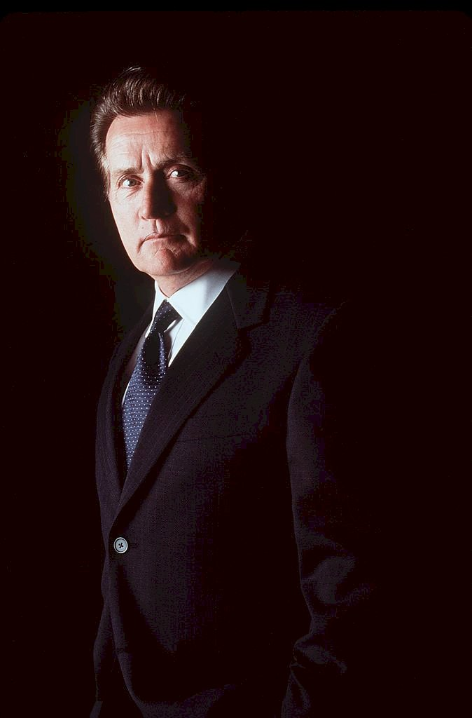 Image Credit: Getty Images / Martin Sheen in front of the camera.