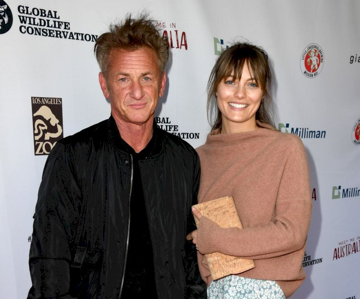 Sean Penn and Leila George/Photo:Getty Images
