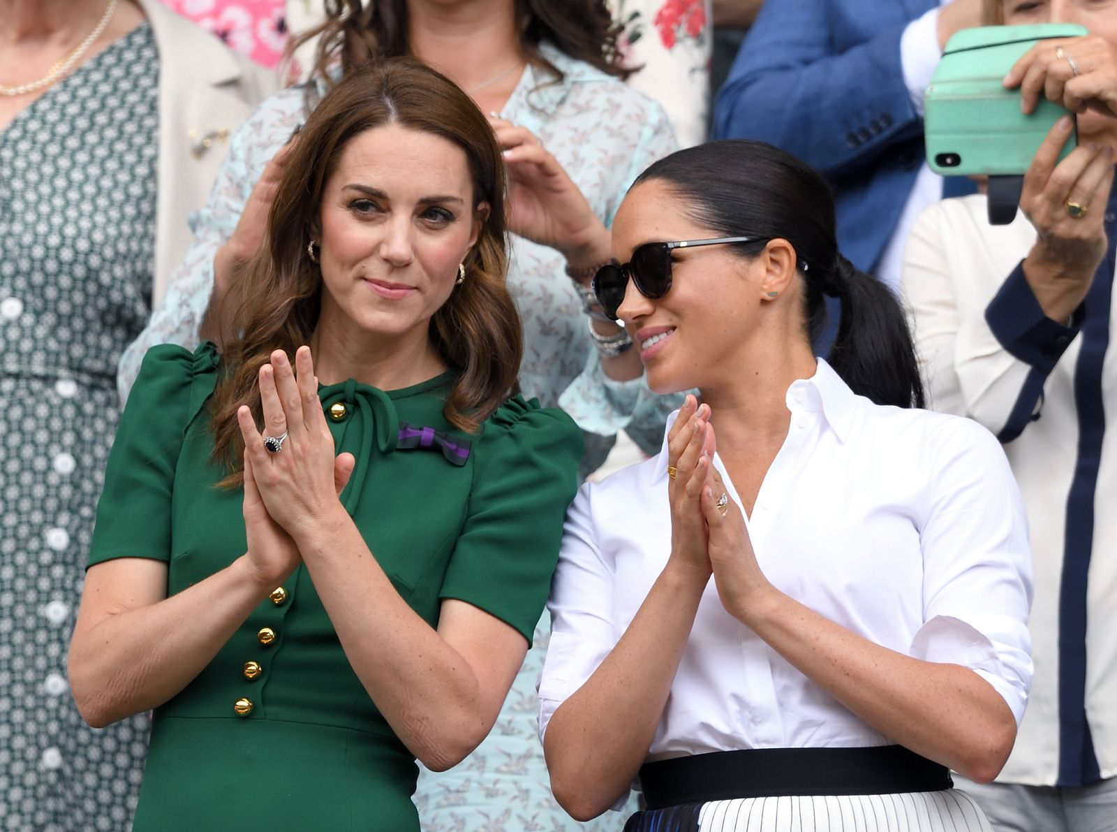 Dutchesses Kate Middleton and Meghan Markle/Photo:Getty Images