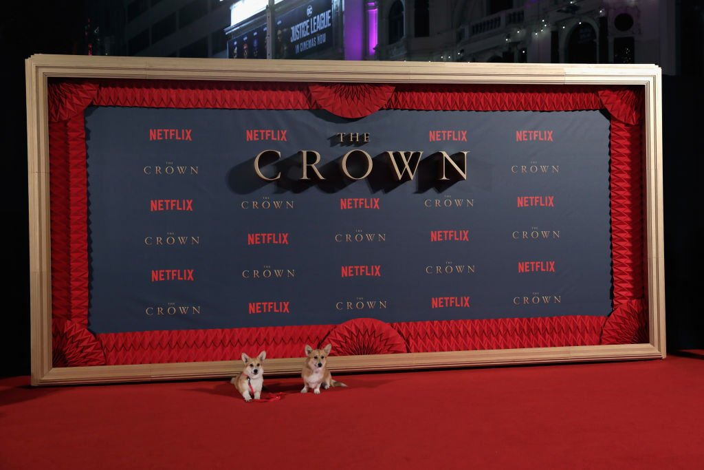 "Image Credits: Getty Images / John Phillips | Royal Corgis at the World Premiere of season 2 of Netflix ""The Crown"" at Odeon Leicester Square on November 21, 2017 in London, England."