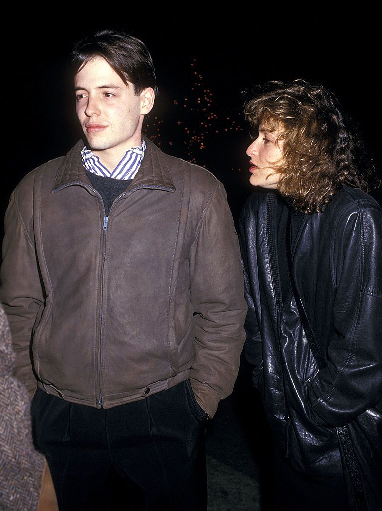 Matthew Broderick and Jennifer Grey/Photo:Getty Images