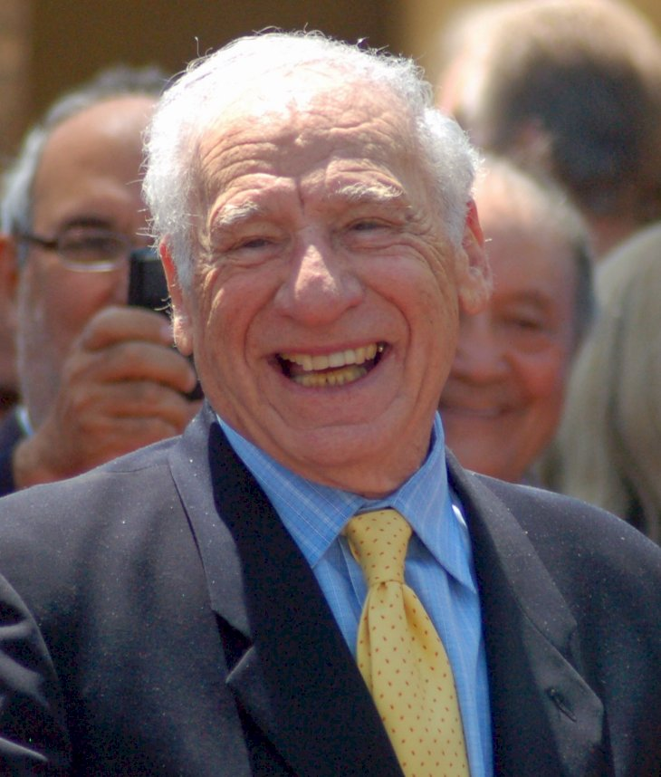 Image Credit: Wikimedia Commons/Angela George (CC BY-SA 3.0) | Mel Brooks at his Hollywood Walk of Fame Ceremony