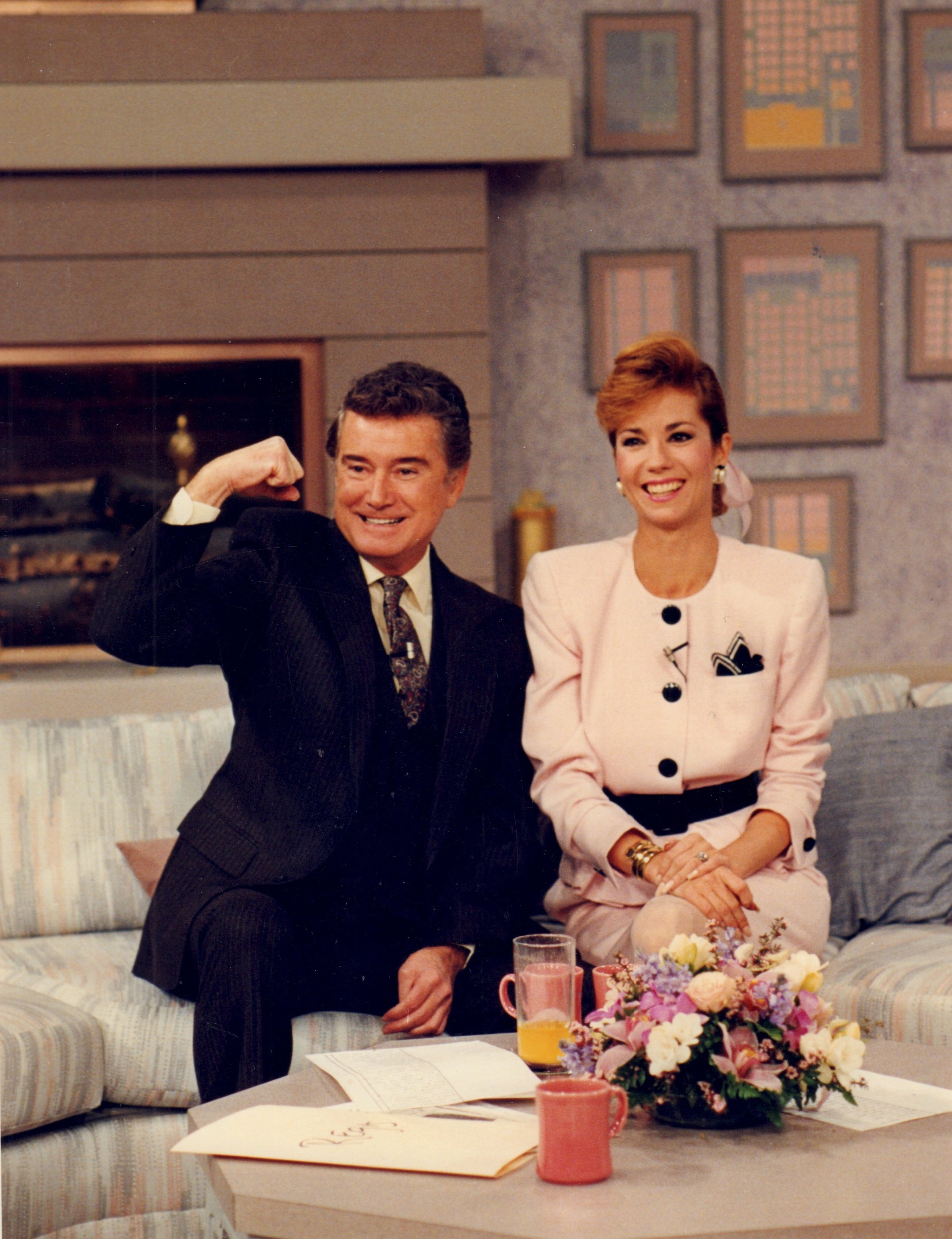 "Image Credits: Getty Images / Newsday LLC / Newsday RM | Philbin and Gifford starred together on ""Live with Regis and Kathie Lee"" on ABC from 1985 until her departure in 2000."
