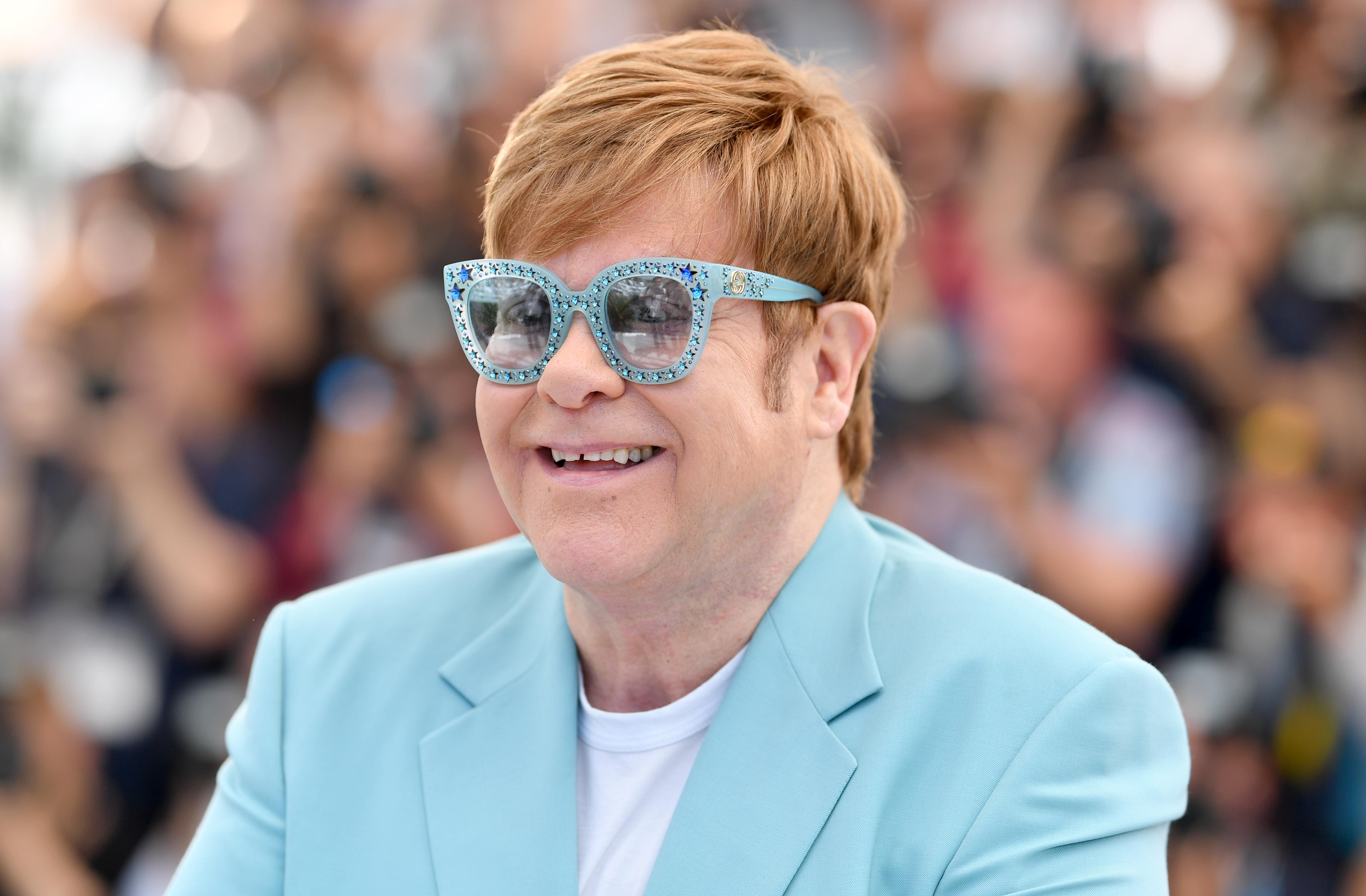 Image Source: Getty Images| A photo of Elton John