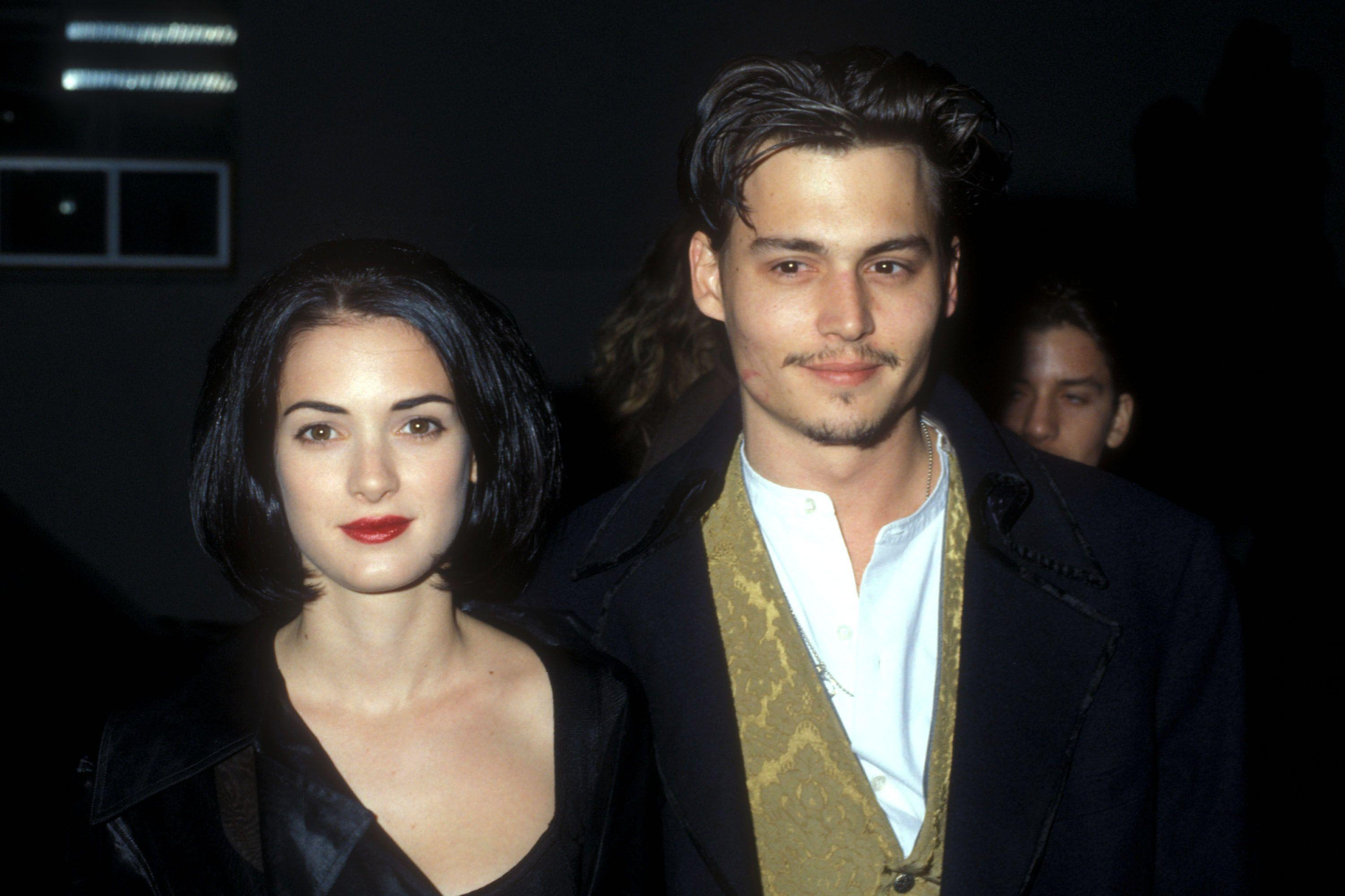 Johnny Depp And Winona Ryder: An Unforgettable Romance