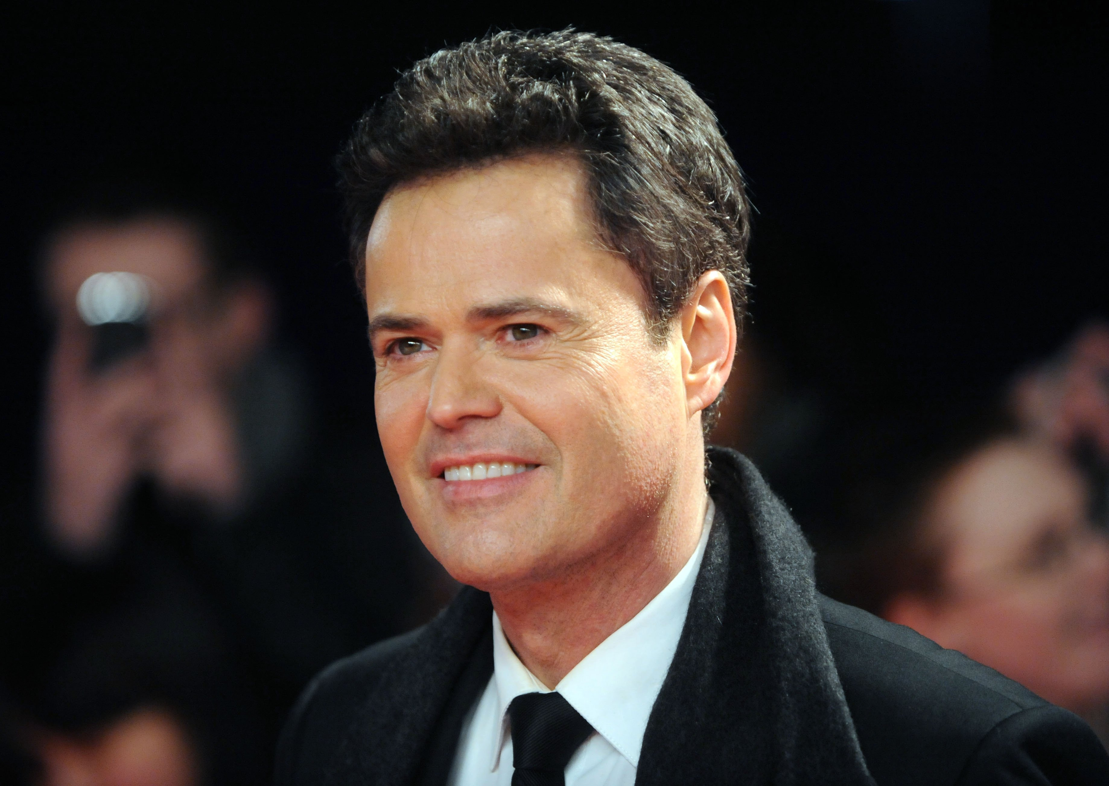 Image Credits: Getty Images / Stuart Wilson | Donny Osmond attends the National Television Awards at 02 Arena on January 23, 2013 in London, England.