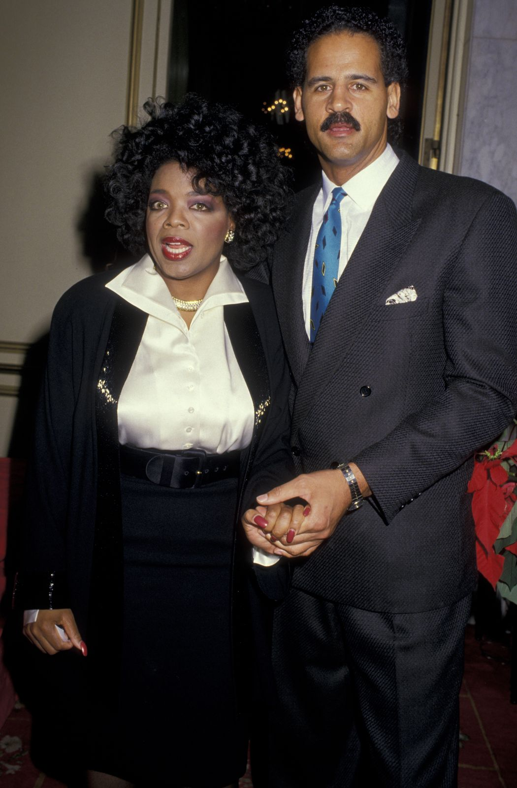 Oprah Winfrey and Stedman Graham/Photo:Getty Images
