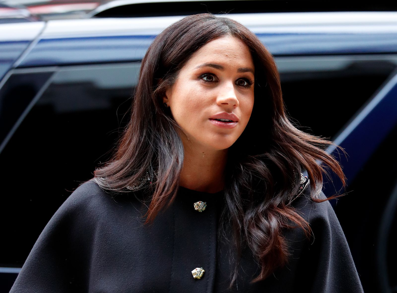 Duchess Meghan at New Zealand House on March 19, 2019, in London, England Photo Max Mumby Getty Images