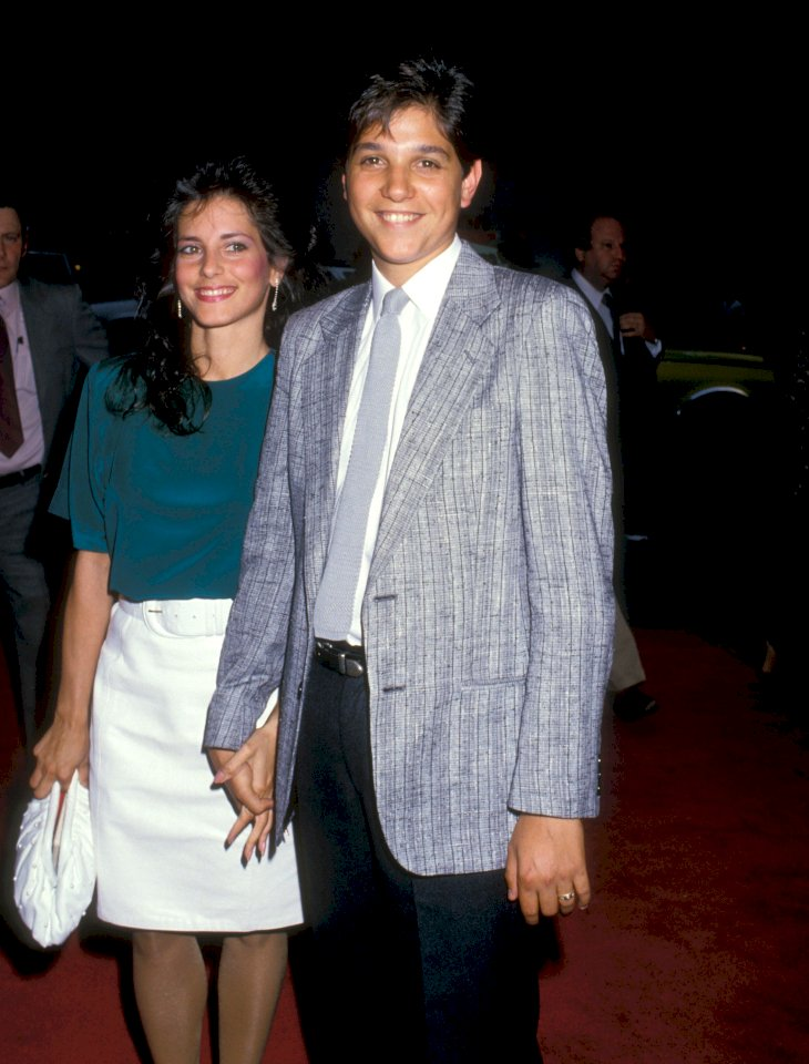 Phyllis Fierro and Ralph Macchio / Photo:Getty Images