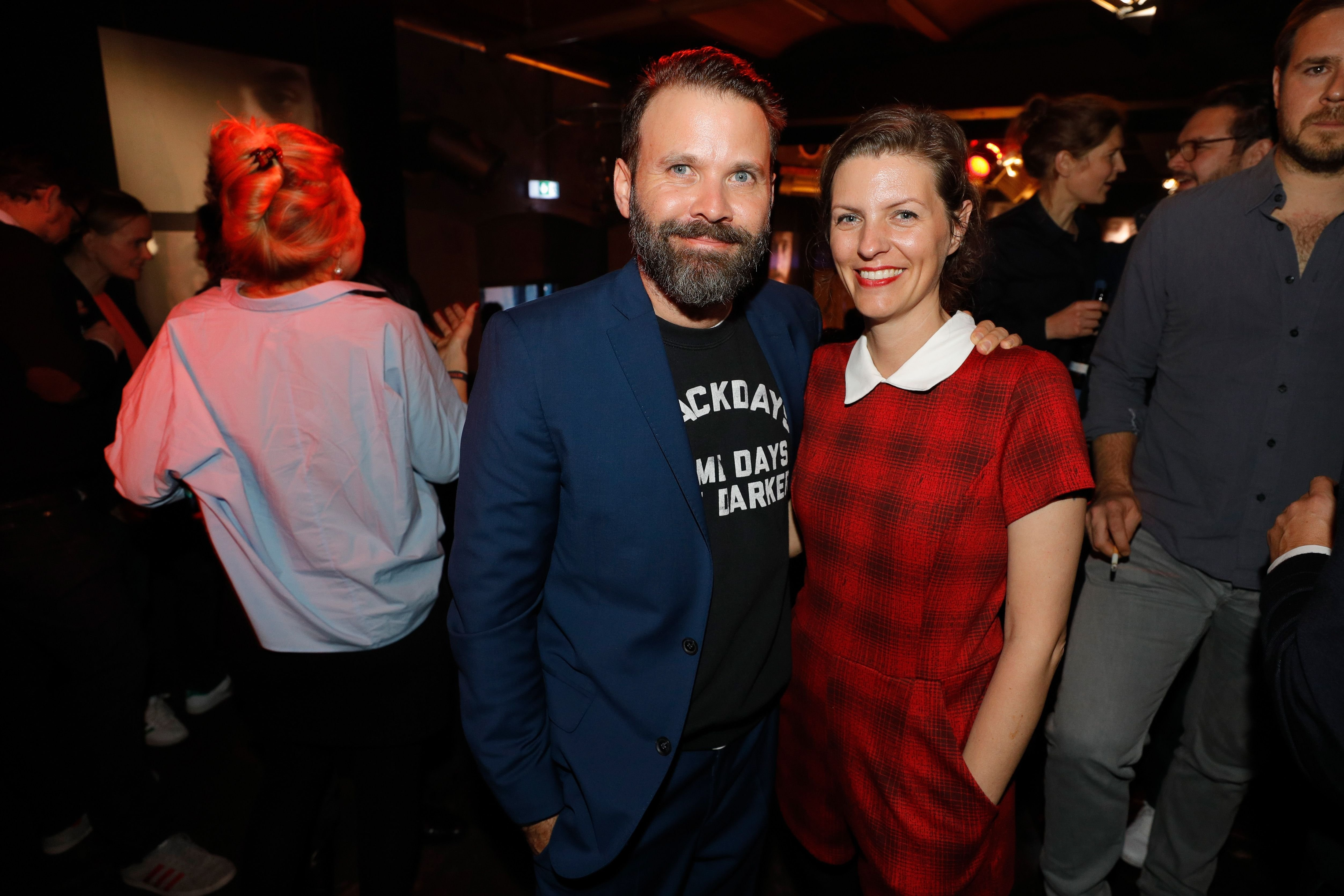 Baran bo Odar and Jantje Friese attend the after party to the premiere of the first German Netflix series 'Dark' on November 20, 2017 in Berlin / Photo: Getty Images
