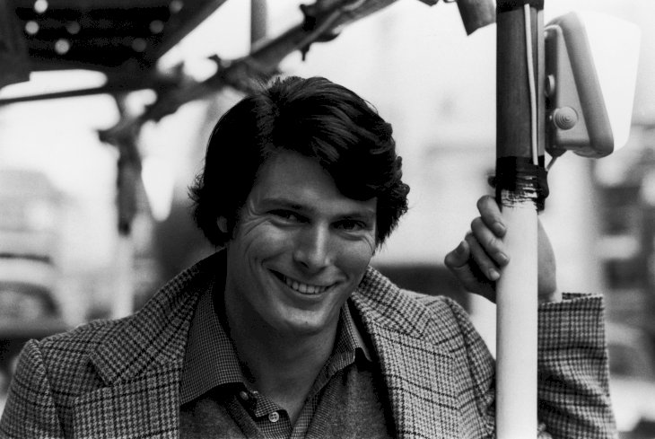 Image Credit: Getty Images / Christopher Reeve in public.