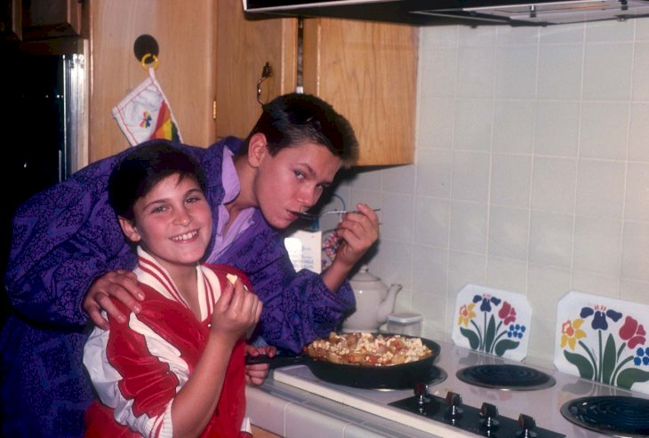 Joaquin and River Phoenix/Photo:Getty Images