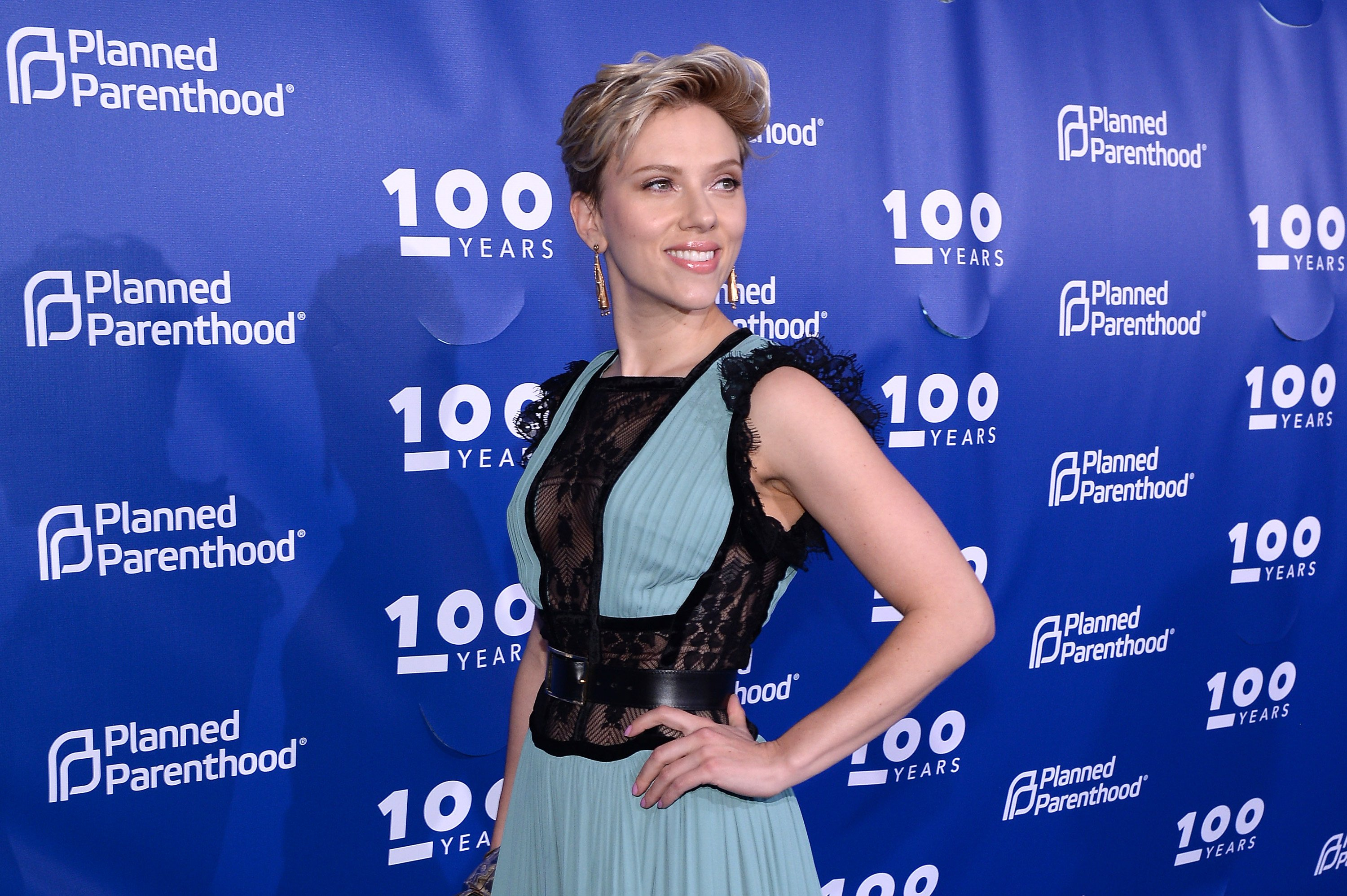 Image Source: Getty Images/Scarlett at an event of Planned Parenthood